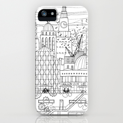 London phone case