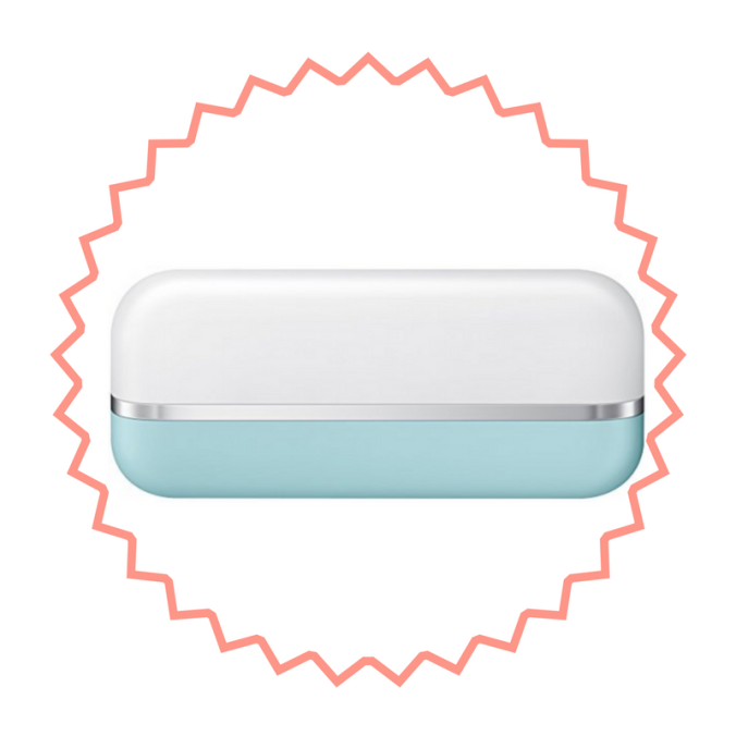 Baby blue rechargeable usb