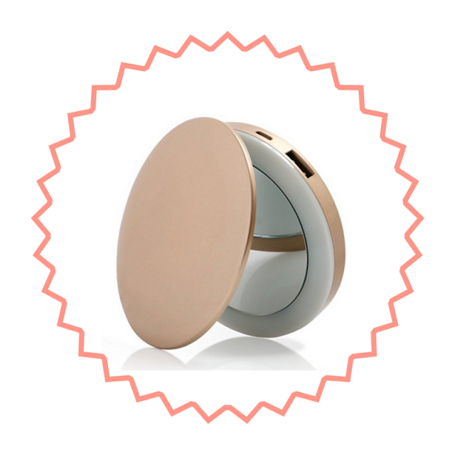 Mirror rechargeable usb