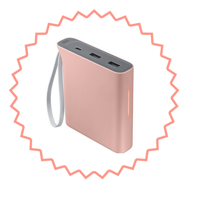 Samsung Evo Rechargeable Battery Pack Pink