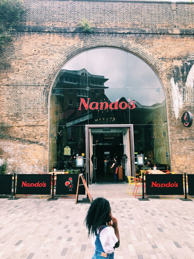Nando's Click Street London