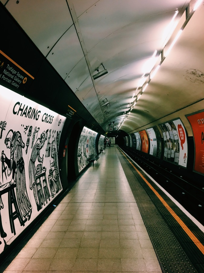 Charing Cross Station London