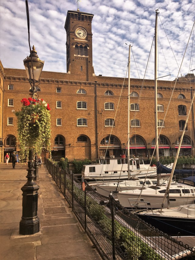 St Katherine Docks London