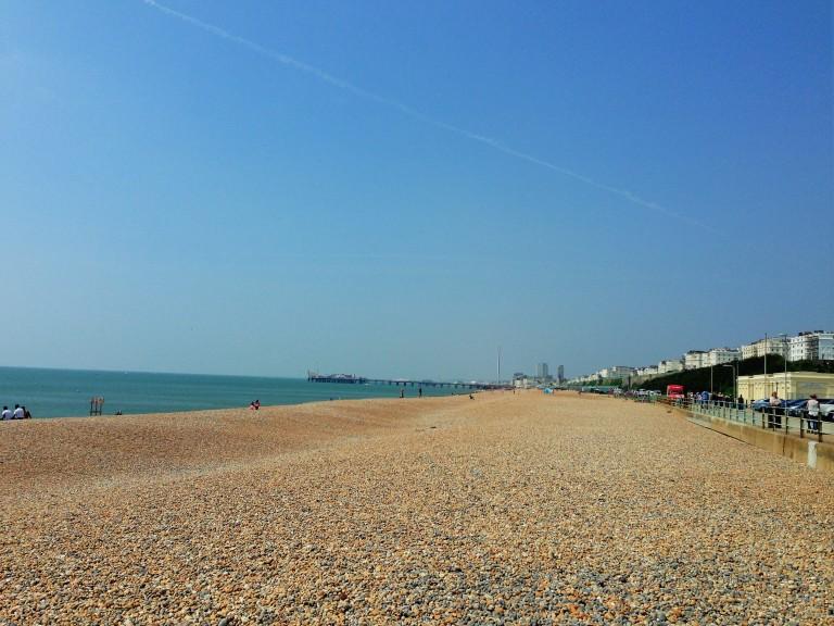 Brighton beach pebbles