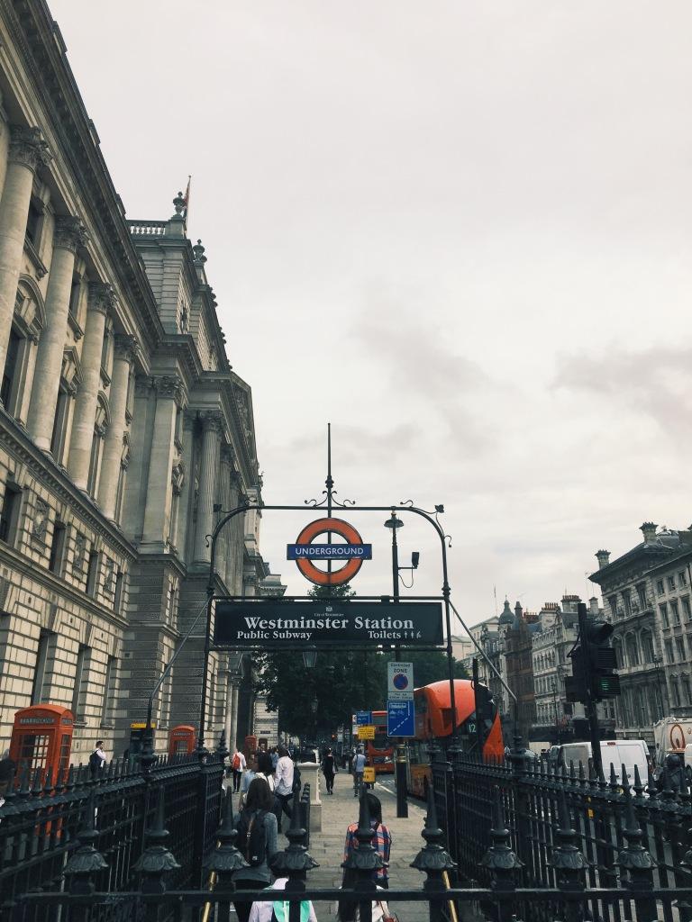 Westminster Station London