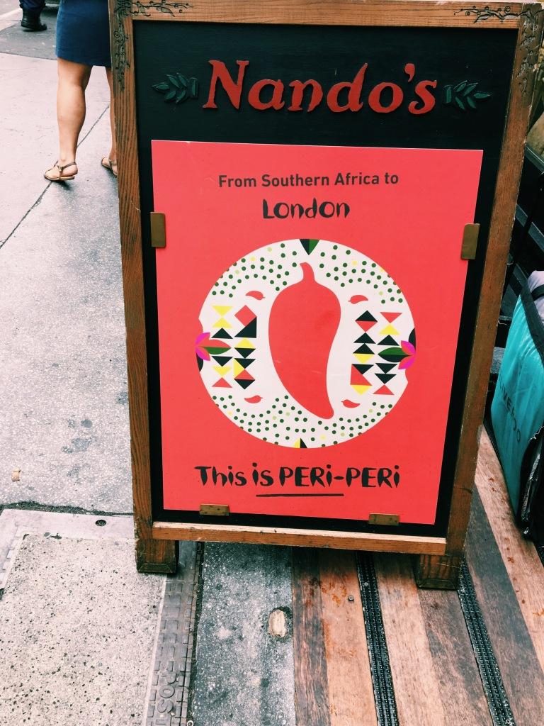 Nando's Click Street London