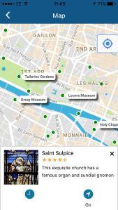 Visit a City map