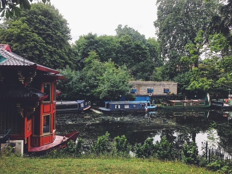 Camden canal ZSL London Zoo