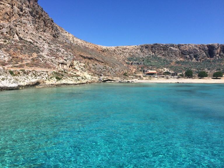 Balos Beach Crete Swim Greece