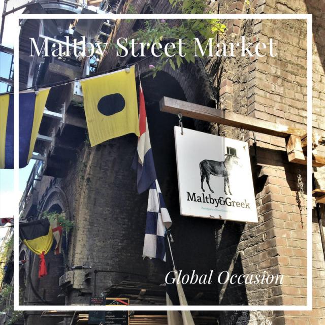 Maltby Street Market London Bermondsey