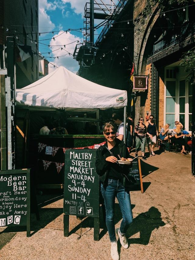 Maltby Street Market Bermondsey Visit