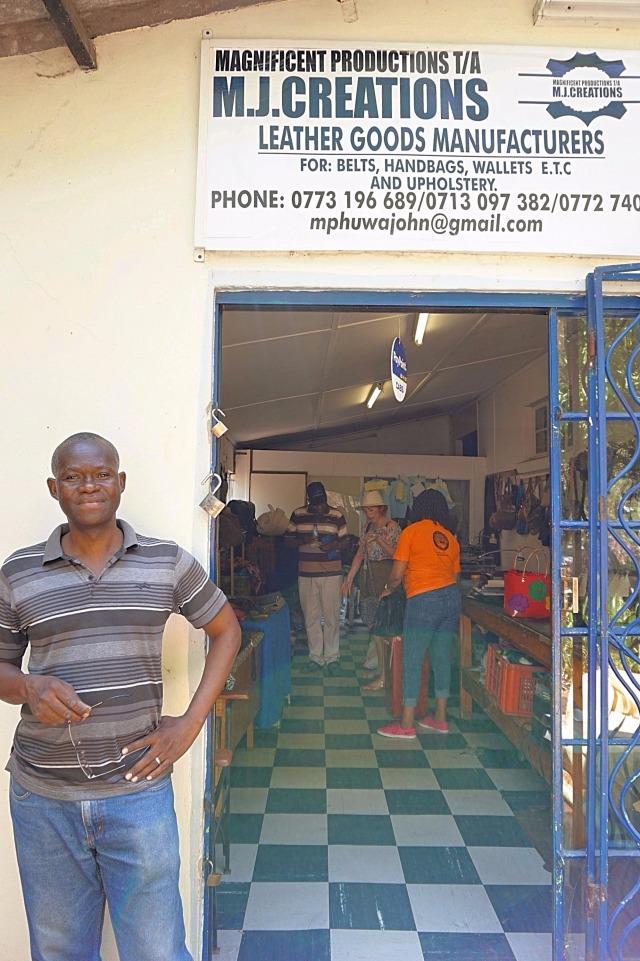 Shopping in Zimbabwe