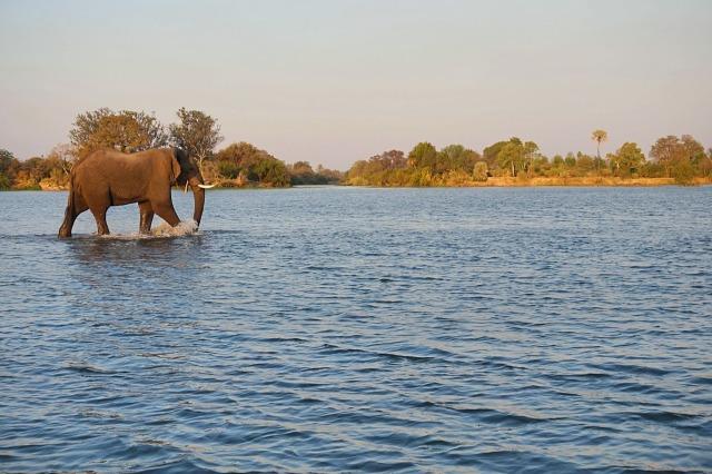Victoria Falls, Zambezi, Zimbabwe Sunset Cruise
