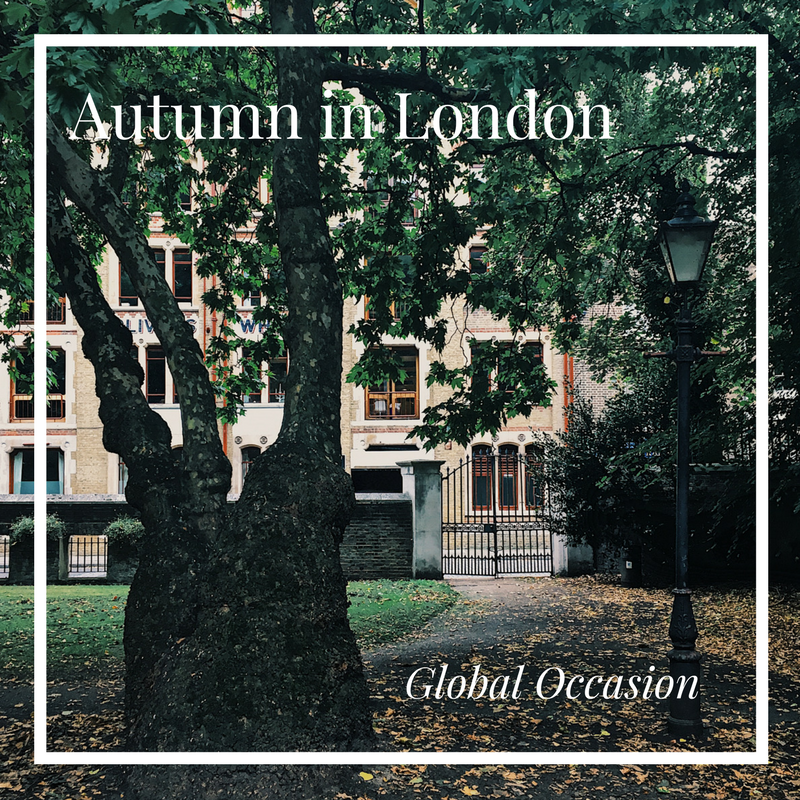 Autumn in London